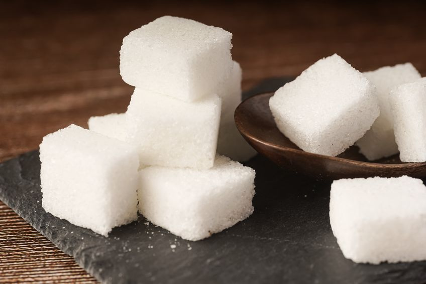cubos de azucar